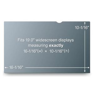 3M 19IN LCD PRIVACY FILTER FOR WIDESCREEN (PF19.0W)
