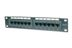 DIGITUS CAT 5E, PATCH PANEL KLASSE D, 12 PORT, GESCHIRMT     IN ACCS