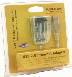 DELOCK USB 2.0 Ethernet Adapter (61147)
