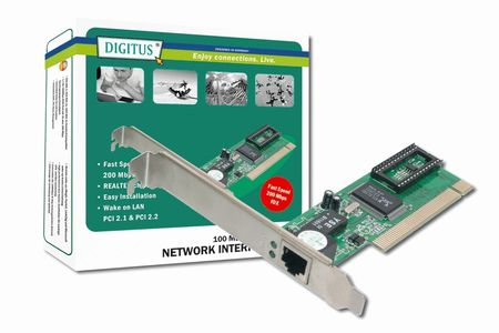 DIGITUS PCI Adapter fast Ether (DN-1001J)