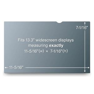 3M PF13.3W 13IN PRIVACY FILTER FOR WIDESCREEN NOTEBK (PF13.3W)