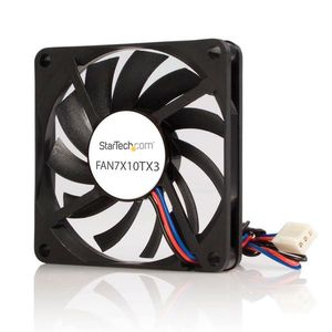 STARTECH Replacement 70mm TX3 Dual Ball Bearing CPU Cooler Fan	 (FAN7X10TX3)