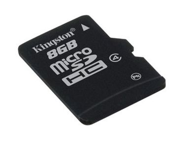 KINGSTON MicroSD HCCard 8GB Class 4 (SDC4/8GB)