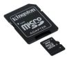 KINGSTON 8GB microSDHC Class 4 Flash Card + SD Adapter (SDC4/8GB)