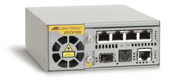 ALLIED TELESYN 2 Slot Converteon Chassis, including 1 external AC power adapter (AT-CV1203-20)