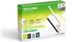 TP-LINK NT WIRELESS 150NB HIGH GAIN USB ADAPTER 2.4GHZ 802.11N B G RETAIL