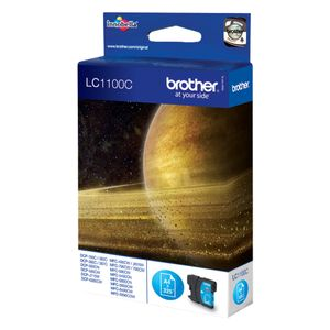 BROTHER LC-1100 ink cartridge cyan standard capacity 5.5ml 325 pages 1-pack (LC1100C)