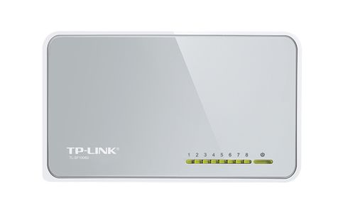 TP-LINK NETWORK TL-SF1008D 8PORT 10 100M MINIDESKTOP SWITCH 8 10 100M RJ45 RTL (TL-SF1008D)