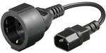 MICROCONNECT Power Cord 0,75m CEE7/