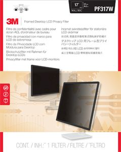 3M PF317W FRAMED PRIVACY FILTER 15,4IN -17IN 39, 1-43, 2CM 16:10   IN ACCS (98-0440-4547-8)