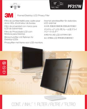 "3M Privacy filter framed lightweight 15,1"""" to 17"""" widescreen (7000059516)"