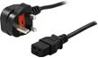 POWERWALKER UK Input Power Cable IEC C19