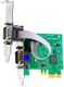 BRAINBOXES INTASHIELD PCIe LP 1+1xRS232
