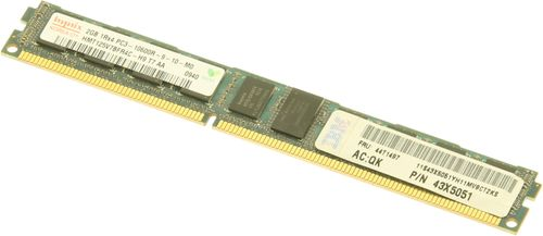 IBM 2Gb LP RDIMM SR PC3-10600 CL9 ECC DDR3-1333  Retail (44T1497)