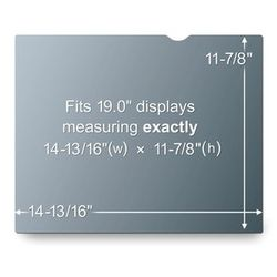 3M Privacy filter for desktop 19,0'' (PF190)