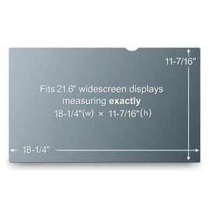 "3M Privacy Filter 21.6"""" WideS (PF21.6W)"