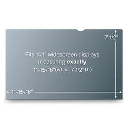 "3M Privacy Filter LCD 14.1"" WideS (PF14.1W)"