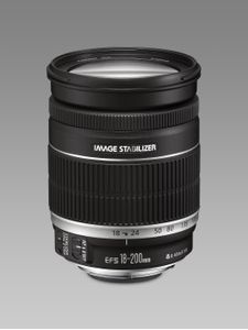 CANON EF-S 18-200mm 1:3, 5-5, 6IS Objectiv (2752B005)