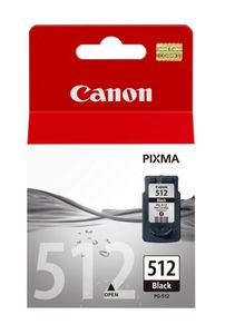 CANON PG-512 ink cartridge black standard capacity 15ml 401 pages 1-pack (2969B001)