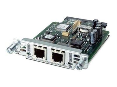 CISCO Two-Port Voice Interface Card FXS + DID (VIC3-2FXS/DID= $DEL)