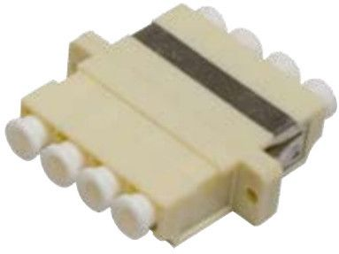 MICROCONNECT LC adapter MM Quad Beige (FIBLCMA)