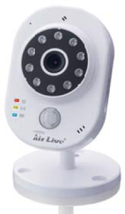 AIRLIVE Smart 3MP w. temp & humidity (SMARTCUBE 300W)