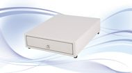 INTERNATIONAL CASH DRAWER SS-102-B, 5/3, White, Epson (SS-102-W-EPSON)