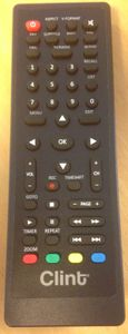 CLINT Remote Control for DT12 (CLINT-DT12-REMOTECONTROL)