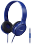 PANASONIC Headband, Microphone,  Blue