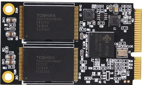 MICROSTORAGE mSATA 64GB 3D TLC SSD (MT-64T)