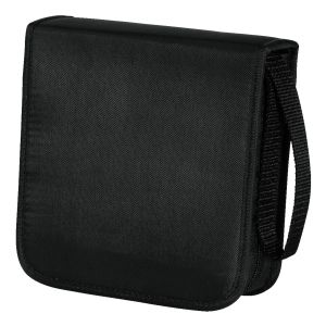 HAMA CD WALLET NYLON 40, BLACK  (00033831)