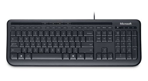 MICROSOFT WIRED KEYBOARD 600 BLACK 1 LICS EN (ANB-00021)