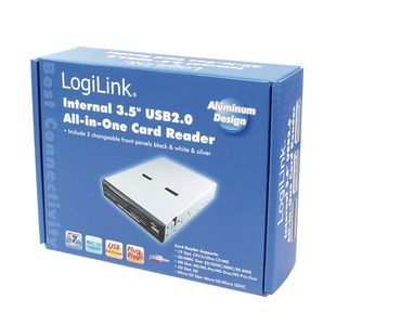 LOGILINK Cardreader intern 3.5'', All-in-1 (CR0005C )