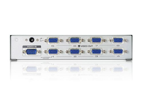 ATEN 8 Port Video Splitter, 200 MHz (VS98A-AT-G)