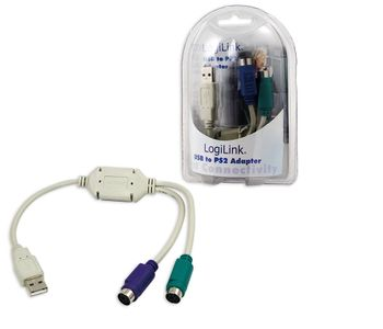 LOGILINK Adapter USB A > PS/2 0.20m (AU0004A)