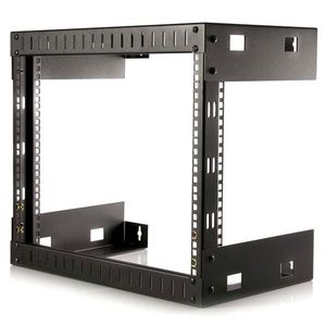 STARTECH 8U Open Frame Wall Mount Equipment Rack - 12 in. Deep 	 (RK812WALLO)