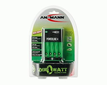 ANSMANN Powerline 4 Zero Watt (5107553)