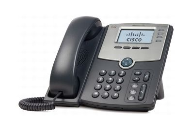CISCO 4 LINE IP PHONE WITH DISPLAY POE & PC PORT (SPA504G)