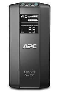APC Back-UPS RS 550VA Offline Extended Runtime, USB, Data/ DSL protection (BR550GI)