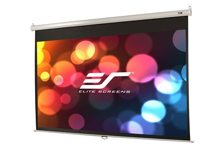 ELITE SCREENS 135IN DIAG MANUAL 4 3 PROJECTOR SCREEN (M135XWV2)