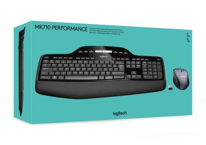 LOGITECH MK710 Wireless Desktop (920-002443)