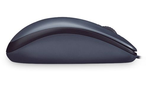 LOGITECH Corded Mouse M100 Dark For Desktops (910-001602)