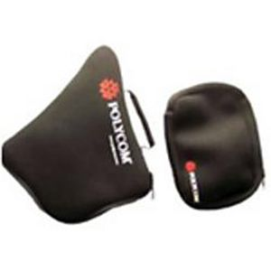 POLYCOM Neoprene carry case for use with SoundStation2- SoundStation2W & VTX 1000 family of conference phones.  Can carry console- EX mics and cables. (1676-07870-001)