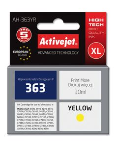 ACTIVEJET TIN ACTIVEJET AH-363YR Refill für HP No.363 yellow (EXPACJAHP0061)