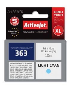 ACTIVEJET TIN ACTIVEJET AH-363LCR Refill für HP No.363 Photo light cyan (EXPACJAHP0062)