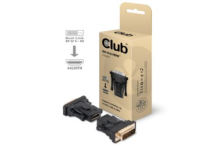 CLUB 3D DVI-HDMI ADAP. FOR ALL CARDS (CAA-DMD>HFD3)