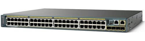 CISCO Catalyst 2960S 48 GigE PoE 740W, 4 x SFP LAN Base (WS-C2960S-48FPS-L)