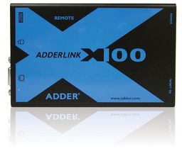 ADDER TECH CAT-X100 PS/2 KVM + audio (X100A/R-EURO)