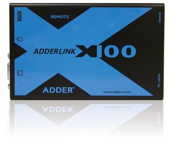 ADDER TECH CAT-X100 PS/2 KVM + audio SPECIAL OR (X100A/R-EURO)
