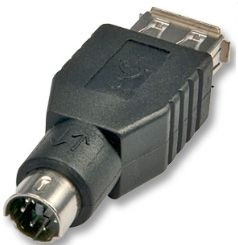 LINDY Adapter USB > PS2 USB A Hun - PS2 Han (70000)